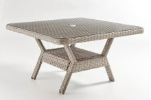Mayfair Dining Chat Table - Glass Top