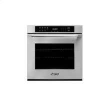 "Heritage 27"" Single Wall Oven, part of DacorMatch Color System - ships with color matching Epicure Style handle (End Caps in stainless steel)"