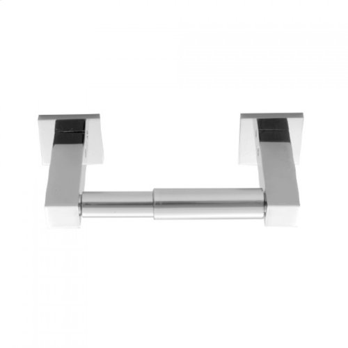 Satin Chrome - CUBIX® Toilet Paper Holder