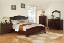 Sunset Trading Cameron Padded Headboard Bedroom Collection