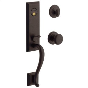 Distressed Venetian Bronze Glennon Escutcheon Trim