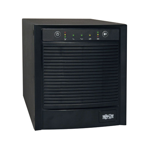 TAA-Compliant SmartPro 120V 2.2kVA 1.6kW Line-Interactive Sine Wave UPS, Tower, SNMPWEBCARD Option, USB, DB9 Serial