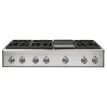 "Café 48"" Professional Gas Rangetop with 6 Burners and Griddle (Natural Gas)"