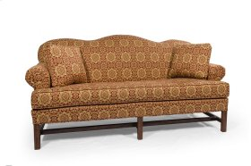 Sofa with Oak Chippendale Base