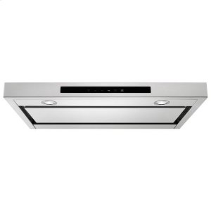 """KitchenAid® 30"""" Low Profile Under-Cabinet Ventilation Hood - Stainless Steel Product Image"""