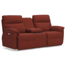 Jay PowerRecline La-Z-Time® Full Reclining Loveseat w/ Console