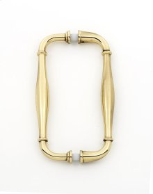 Charlie's Collection Back-to-Back Pull G726-6 - Polished Antique