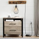 Teardrop shade with cord for wall outlet - Black Product Image