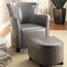 Half Moon Bay Accent Chair W/ Ottoman
