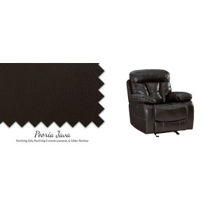 4150431 + Reclining Console Loveseat