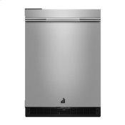"""RISE 24"""" Under Counter Solid Door Refrigerator, Left Swing"""