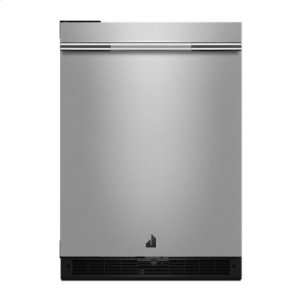 "Jenn-AirRISE 24"" Under Counter Solid Door Refrigerator, Left Swing"