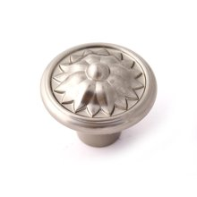 Fiore Knob A1471 - Satin Nickel