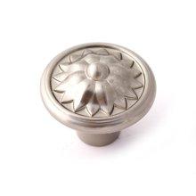 Fiore Knob A1471 - Satin Nickel
