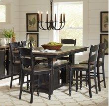 Madison County Ladderback Dining Chair (2/ctn) - Vintage Black