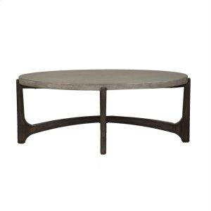 Liberty Furniture Industries  Oval Cocktail Table
