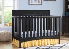 Fabio 4-in-1 Crib - Black (001)