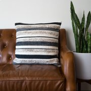 Zander Pillow - Charcoal / Large Product Image