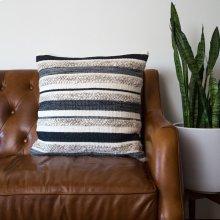 Zander Pillow - Charcoal / Large