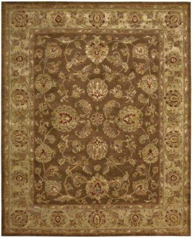 JAIPUR JA23 BRN RECTANGLE RUG 7'9'' x 9'9''