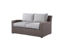 Loveseat Spuncrylic #7101-71 Sketch Grey