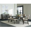 Trestle Table, W/2 13 In Leafs Product Image