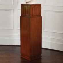 French Key Pedestal-Dark Oak