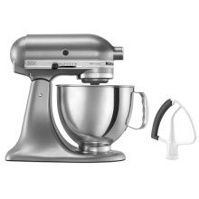 Artisan® Series 5 Quart Tilt-Head Stand Mixer with Flex Edge Beater - Contour Silver