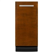 "Jenn-Air® Panel-Ready 15 "" Trash Compactor - Black Console/Reversible Panel"
