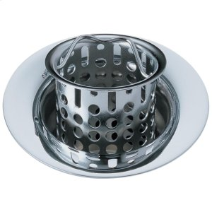 Chrome Bar / Prep Sink Flange and Strainer Product Image