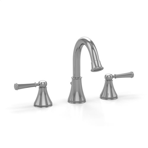 Vivian Alta Lavatory Faucet with Lever Handles - Polished Chrome Finish