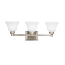 Langford Collection 3 Light Bath and Vanity Light NI