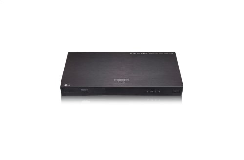 4K Ultra HD Blu-ray Disc Player with HDR Compatibility
