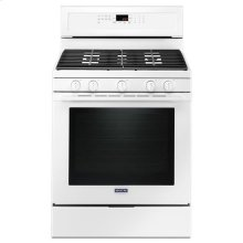 Maytag® 30-Inch Wide Gas Range With True Convection And Power Preheat - 5.8 Cu. Ft. - White