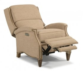 Priscilla Fabric Power High-Leg Recliner with Power Headrest