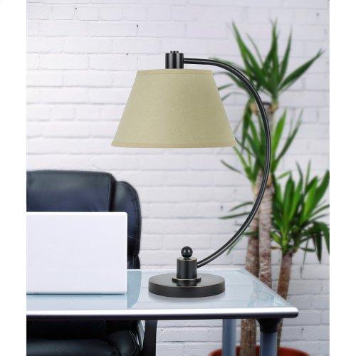 60W Kinder Metal Arc Table Lamp