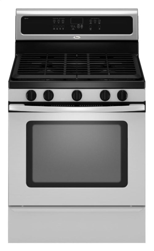 Floor Model - 30-inch Self-Cleaning Freestanding Gas Range with TimeSavor™ Plus true convection cooking system
