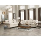 Norah Traditional White Two-piece Living Room Set Product Image