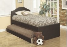 Twin Bed With Trundle (brn)