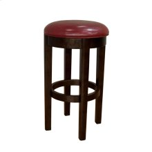 30 Seat Height Swivel Stool-Red