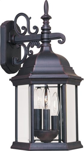 Builder Cast 3-Light Outdoor Wall Mount