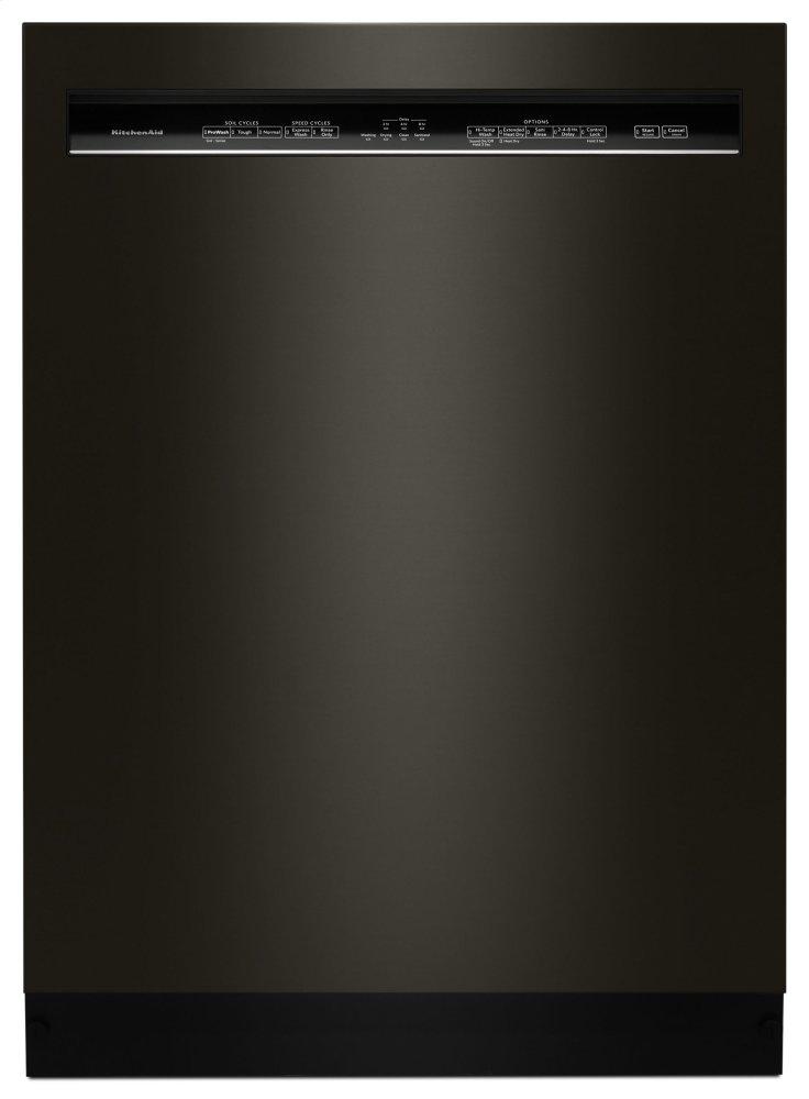 Kitchenaid46 Dba Dishwasher With Prowash Cycle And Printshield Finish, Front Control - Black Stainless