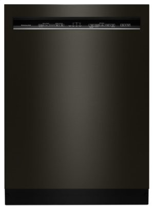 46 DBA Dishwasher with ProWash Cycle and PrintShield Finish, Front Control - Black Stainless Steel with PrintShield™ Finish Product Image