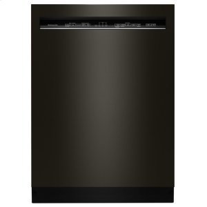 Kitchenaid46 DBA Dishwasher with ProWash Cycle and PrintShield Finish, Front Control - Black Stainless Steel with PrintShield(TM) Finish
