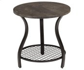 Bluestone Round Lamp Table