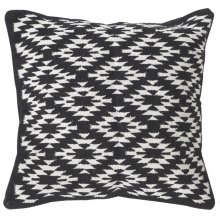 Midnight Desert Pillow - Black