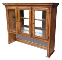 "60"" Hutch W/3 Half Doors Product Image"