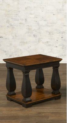 HOT BUY CLEARANCE!!! Rectangular End Table w/ Shelves