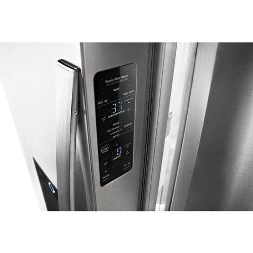 Whirlpool® 36-inch Wide Counter Depth French Door-within-Door Refrigerator - 24 cu. ft. - Fingerprint Resistant Stainless Steel