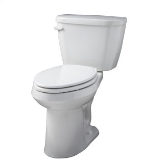 "Bone Viper® 1.6 Gpf 14"" Rough-in Two-piece Elongated Ergoheight Toilet"